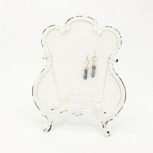Vintage Style Earring Display Frame Organizer